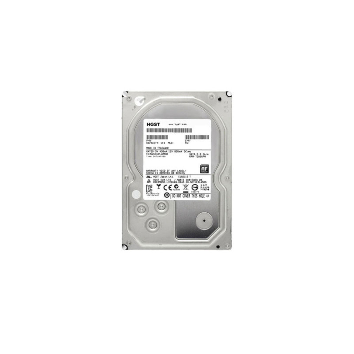 DESKSTAR NAS 4TB 高效能 7200rpm 硬碟 HDN724040ALE640