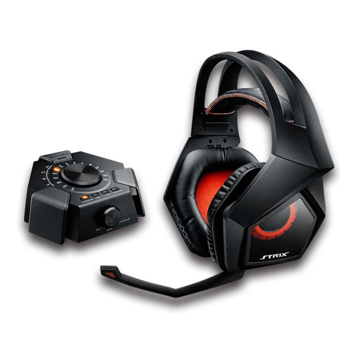 60mm 頭戴式電競耳機 STRIX DSP