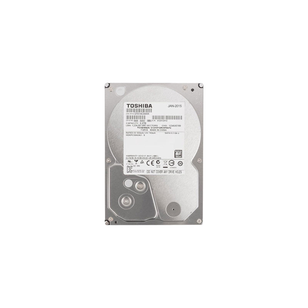 3.5吋 1TB SATA 6Gb/s 桌上型電腦 內置硬碟 DT01ACA100