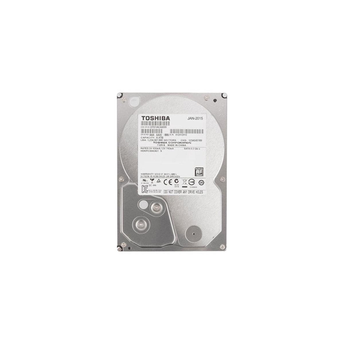 3.5吋 2TB SATA 6Gb/s 桌上型電腦 內置硬碟 DT01ACA200