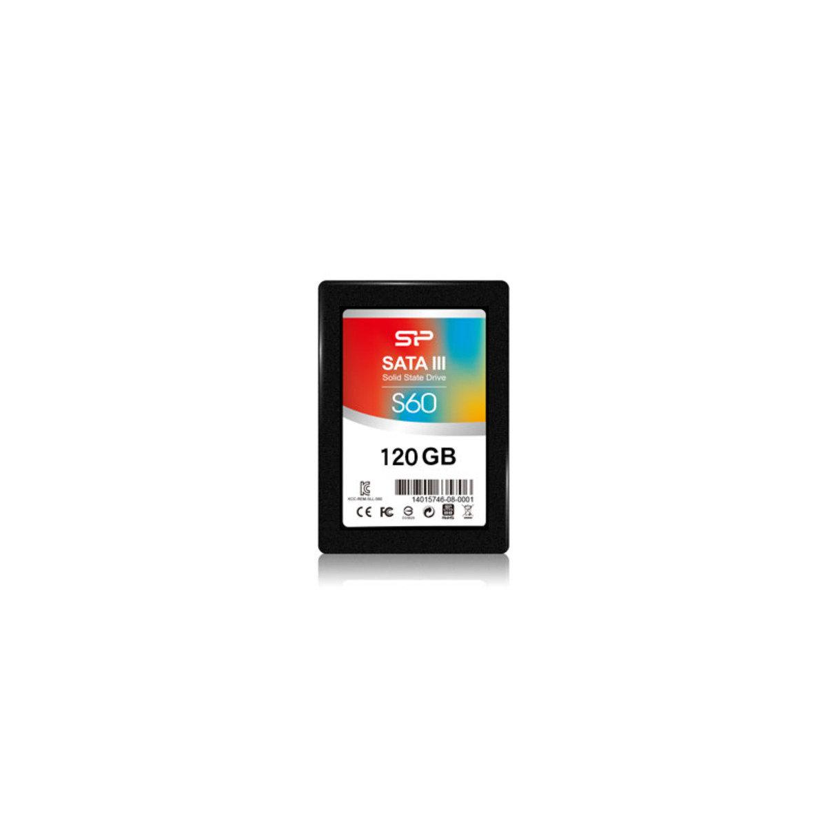SSD 高速內置固體硬碟 120GB SP120GBSS3S60S25
