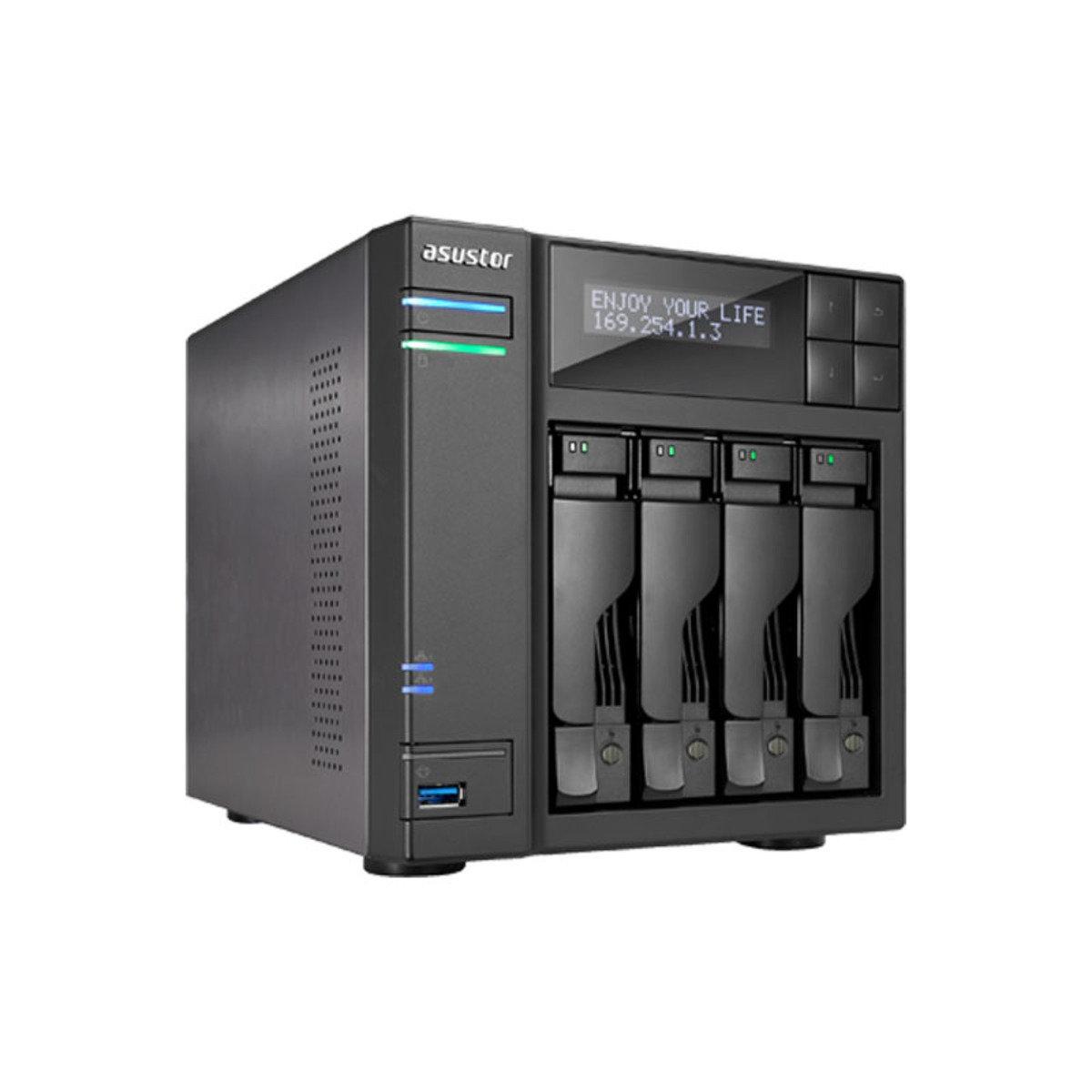 4-Bay 高效能 雲端網絡儲存分享系統 AS5104T