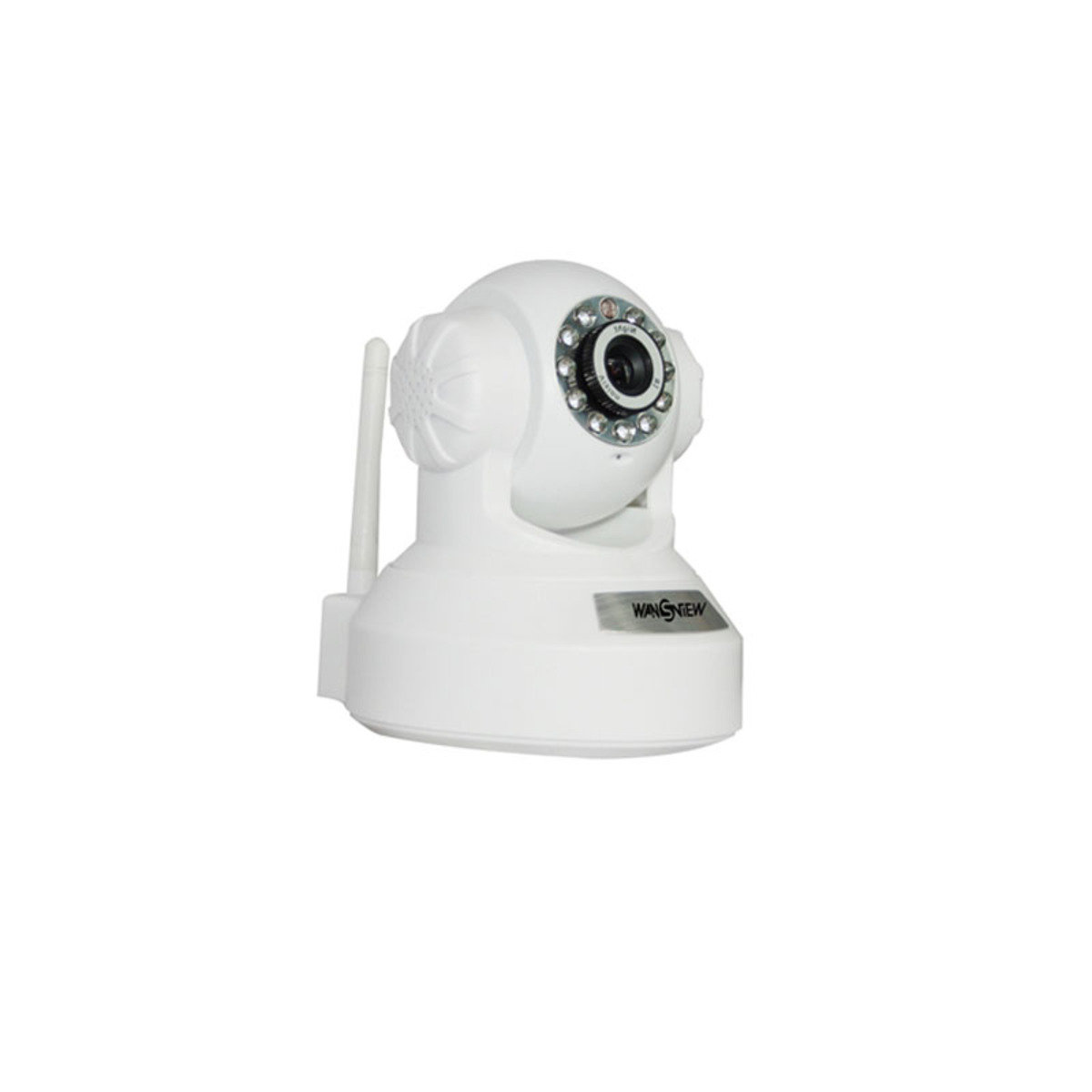 720p 高清旋轉式多角度無線網路攝影機 NCM630GB 白色