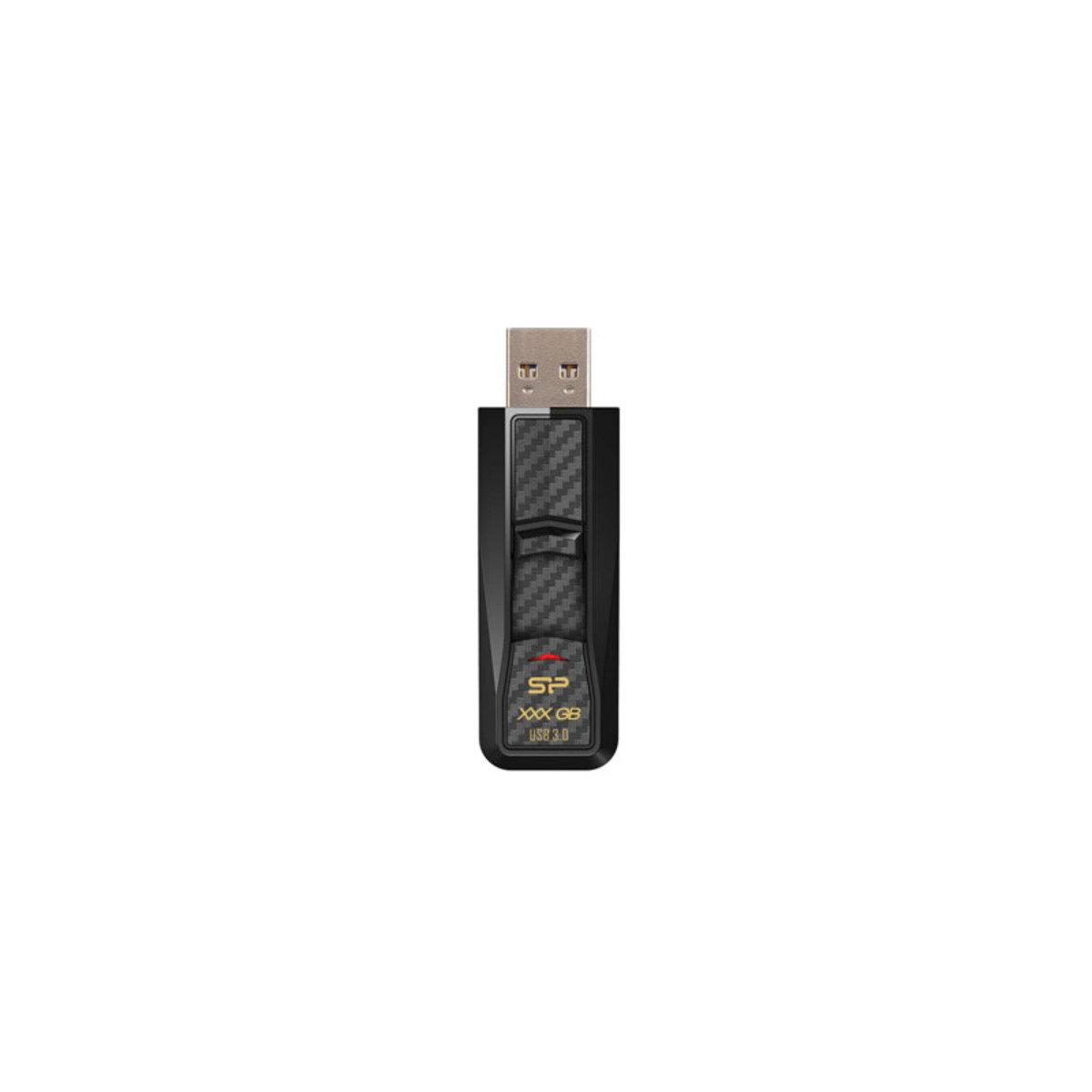 高速USB3.0快閃記憶棒 64GB Blaze B50 黑色