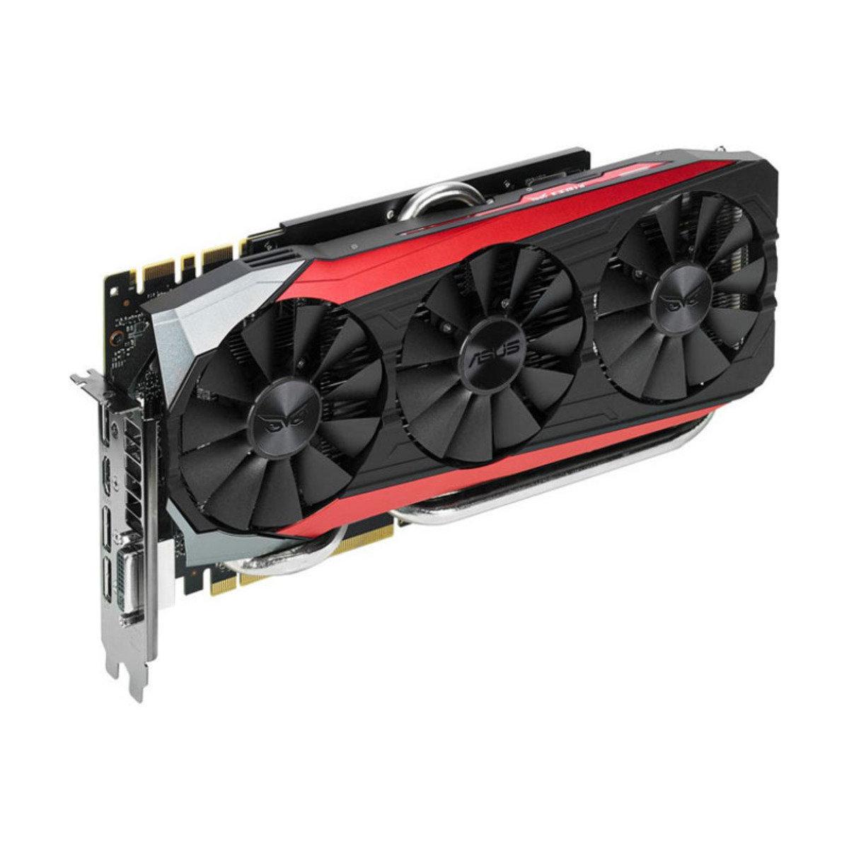 GTX980Ti 6GB GDDR5 PCI-E 頂級效能獨立顯示卡 STRIX-GTX980TI-DC3-6GD5