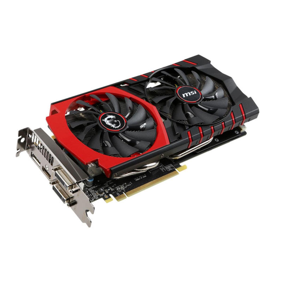 GTX970 4GB GDDR5 PCI-E 高效能獨立顯示卡 GTX 970 GAMING 4G