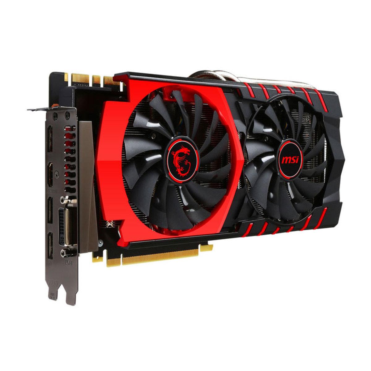 GTX980Ti 6GB GDDR5 PCI-E 頂級效能獨立顯示卡 GTX 980TI GAMING 6G
