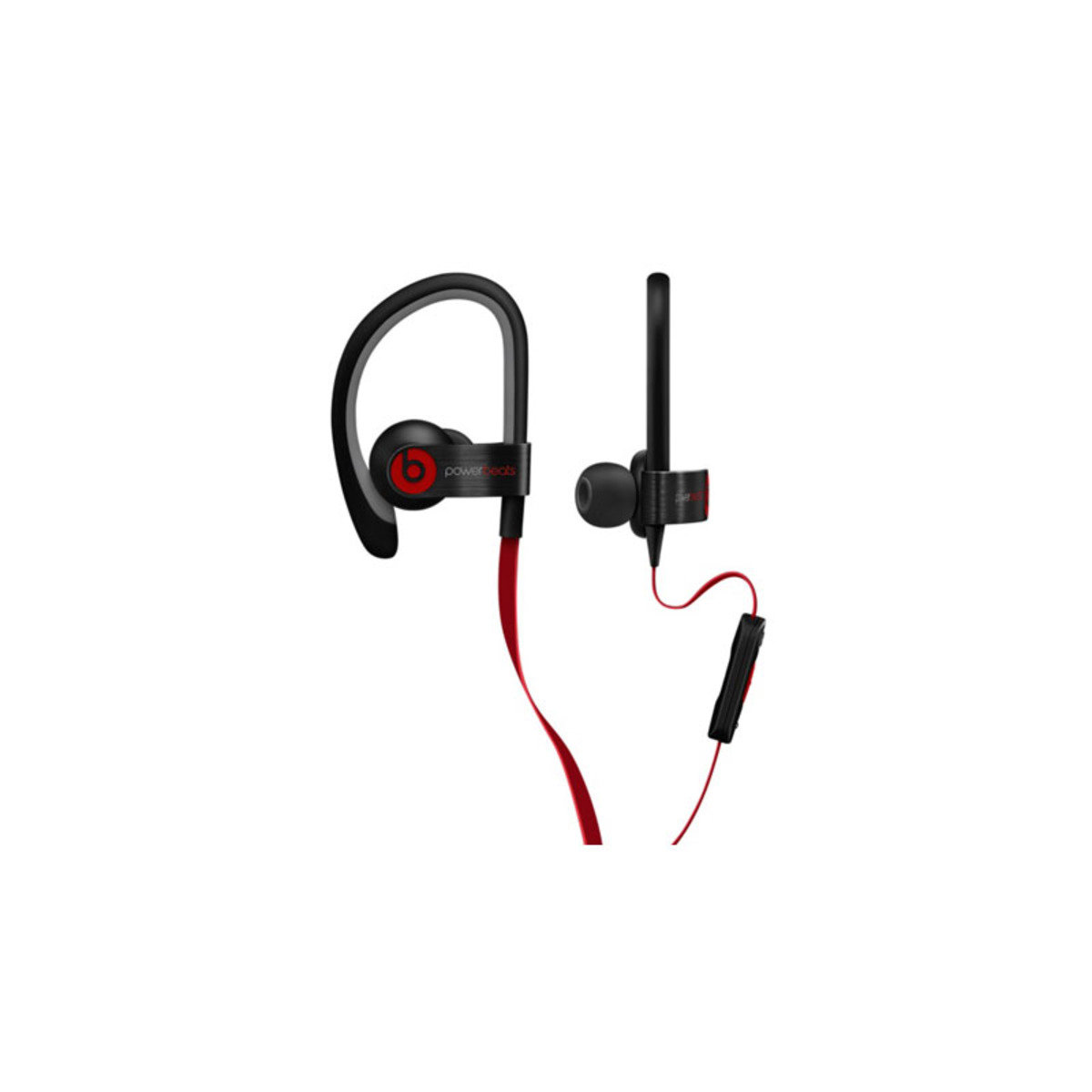 IPX4防汗防水濺 運動型掛耳式機 Powerbeats 2 Black