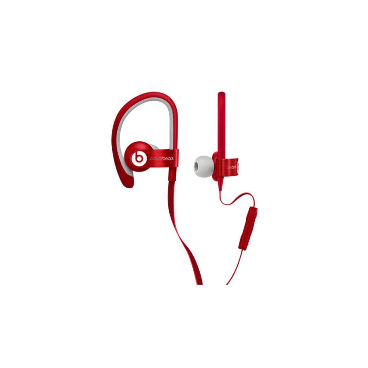 IPX4防汗防水濺 運動型掛耳式機 Powerbeats 2 Red