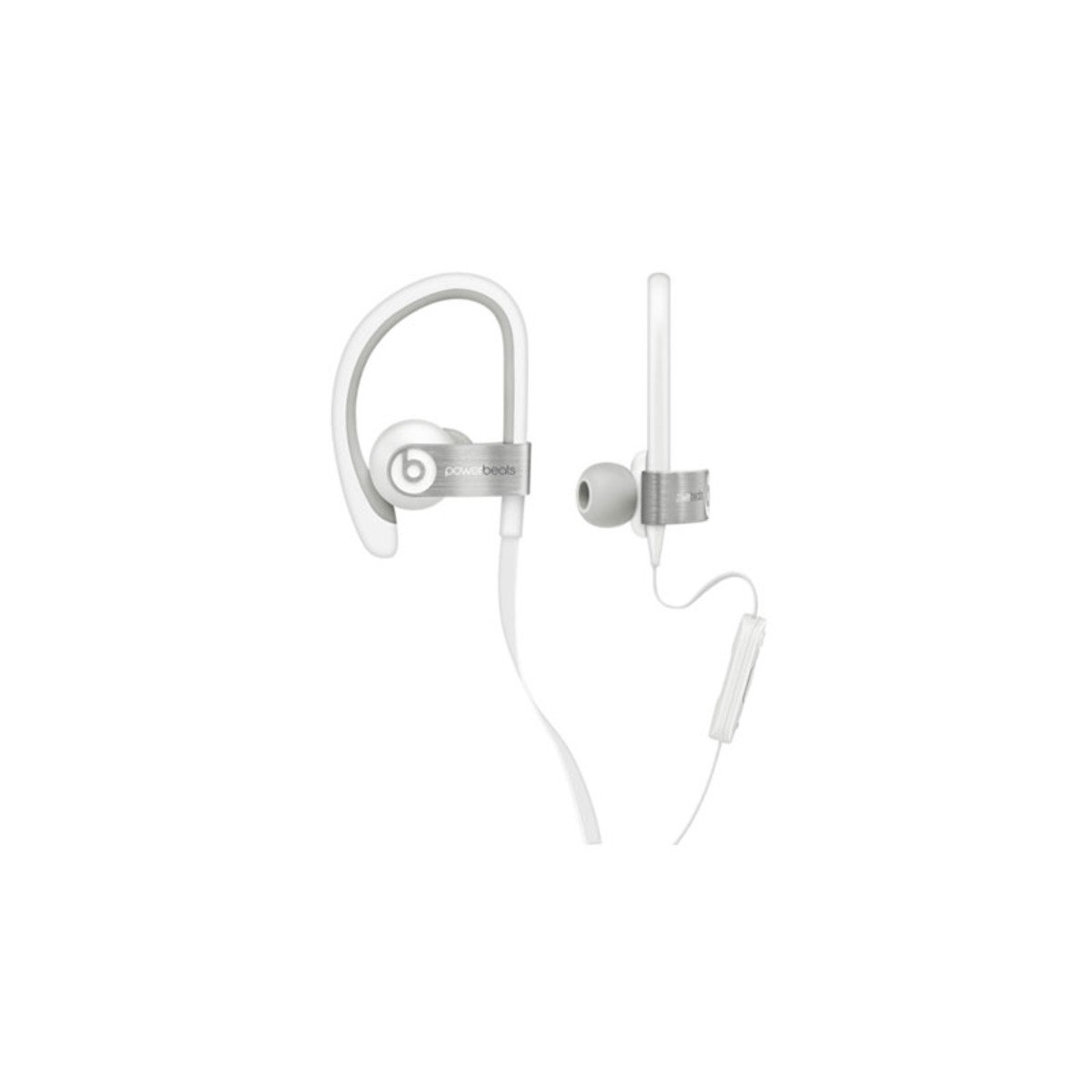 IPX4防汗防水濺 運動型掛耳式機 Powerbeats 2 White
