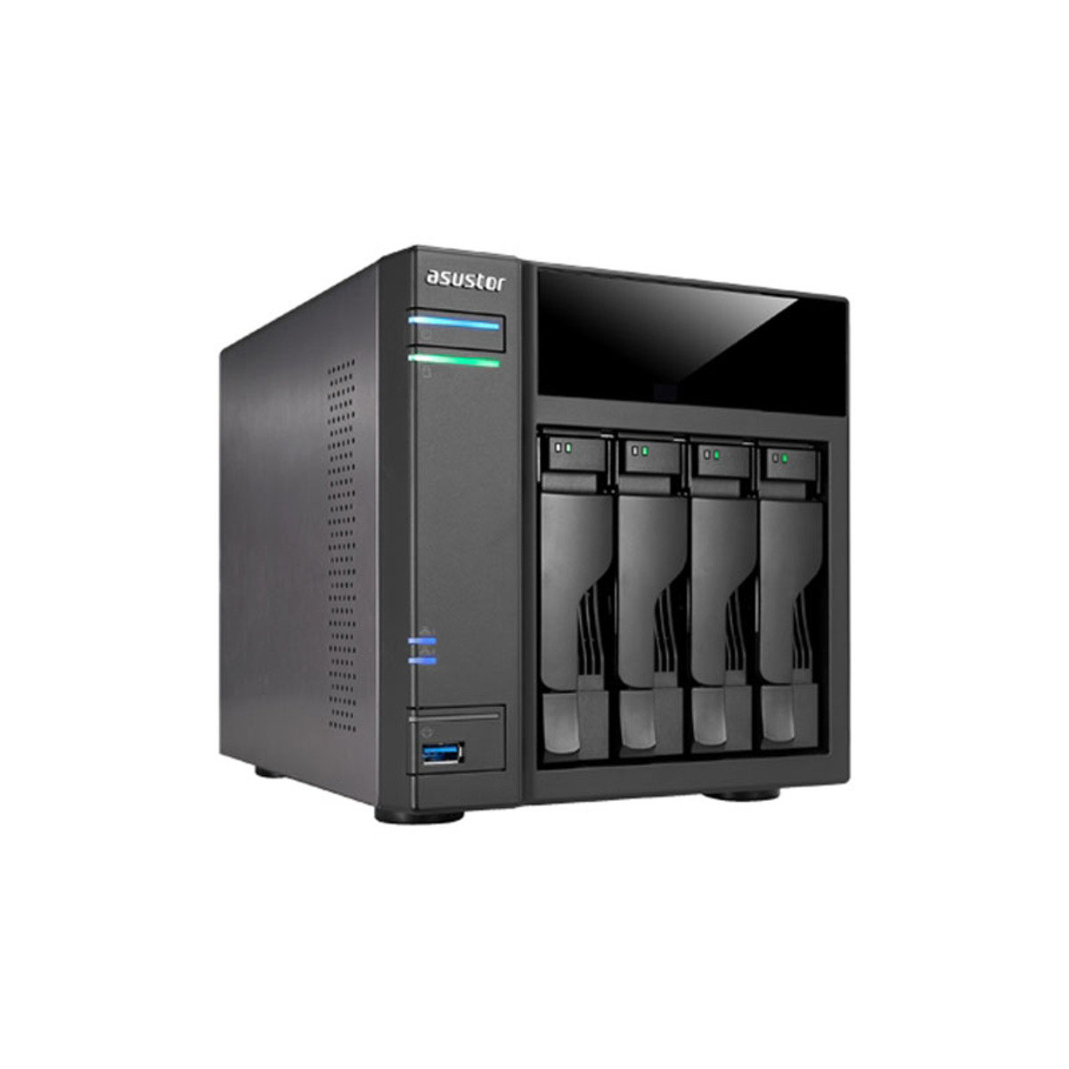 4-Bay 高效能 4K播放雲端網絡儲存分享系統AS6104T