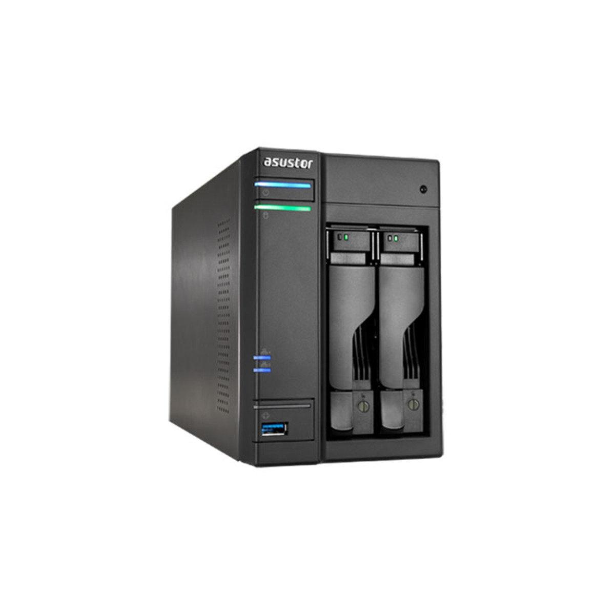 2-Bay 高效能 4K播放雲端網絡儲存分享系統 AS6202T