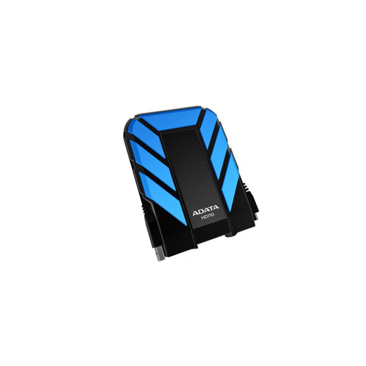 IP68 防水、防塵、抗震 USB 3.0 外置硬碟 HD710 1TB 藍色