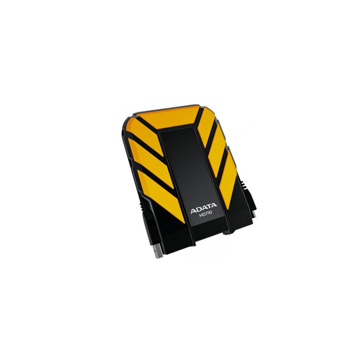IP68 防水、防塵、抗震 USB 3.0 外置硬碟 HD710 2TB 黃色
