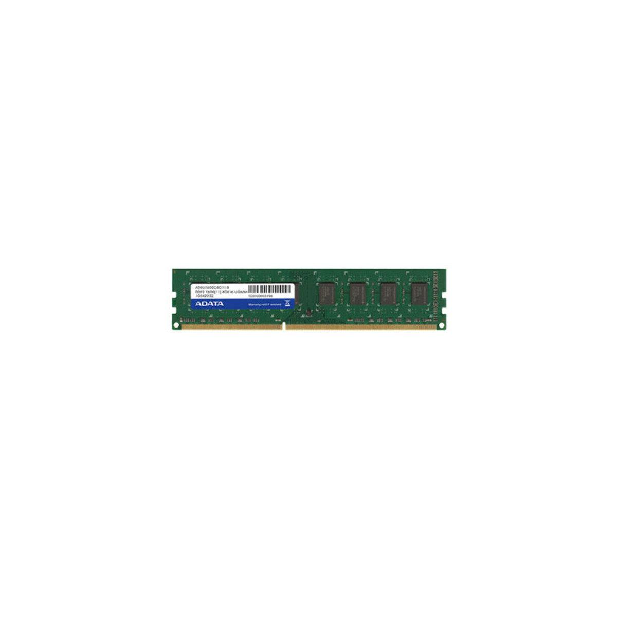 桌上型記憶體 單條 Premier DDR3-1600 4GB