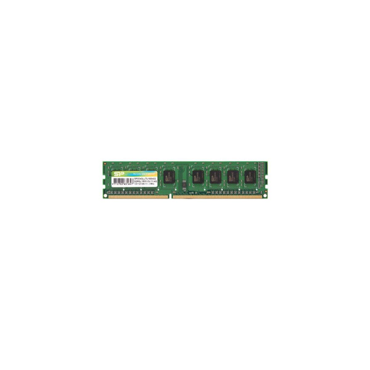 桌上型記憶體 單條 DDR3L-1600 4GB 低電版 SP004GLLTU160N02
