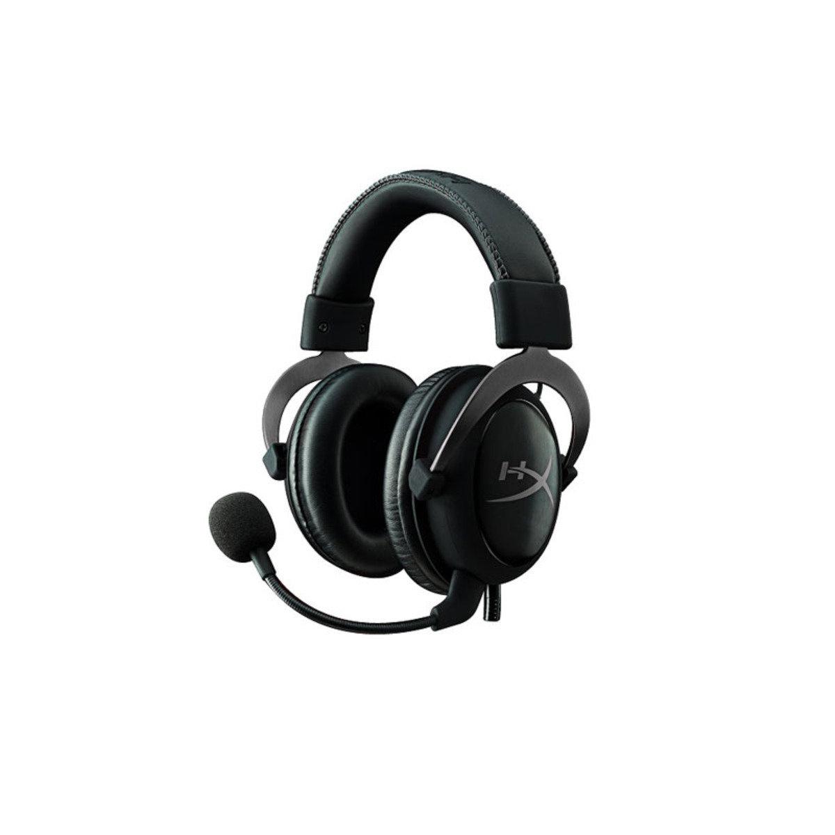 頭戴式 專業電競耳機 HyperX Cloud II 金屬灰