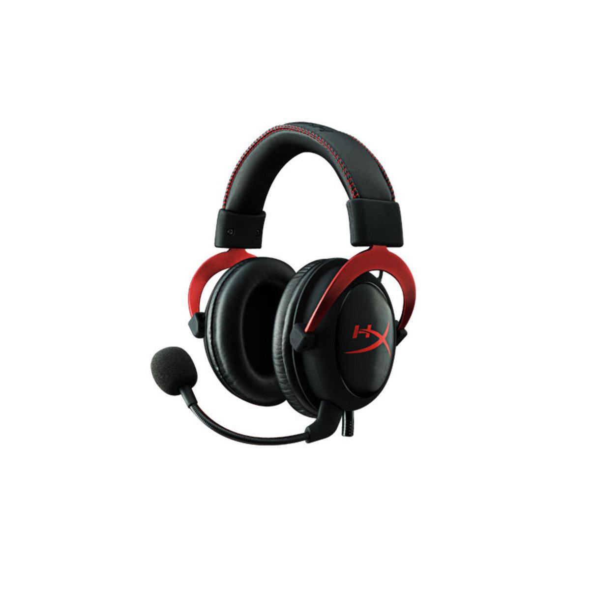 頭戴式 專業電競耳機 HyperX Cloud II 黑紅色