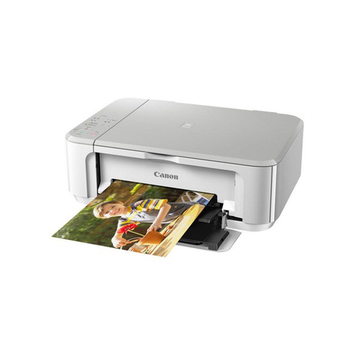 彩色打印 掃瞄 影印 多合一噴墨相片打印機 MG3670 白色