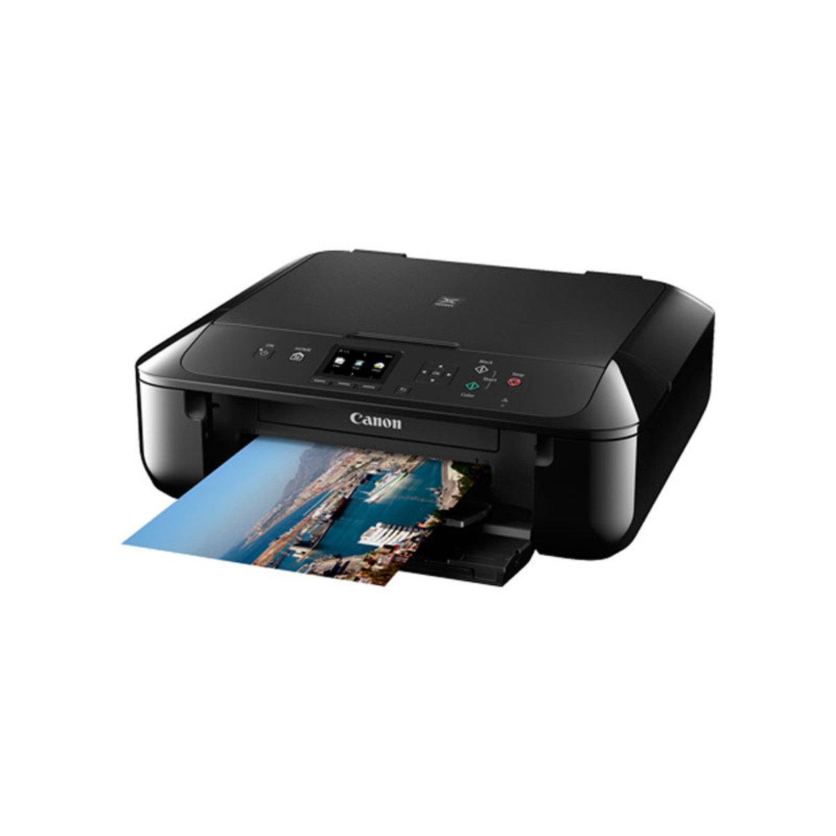 彩色打印 掃瞄 影印 多合一噴墨相片打印機 MG5770 黑色