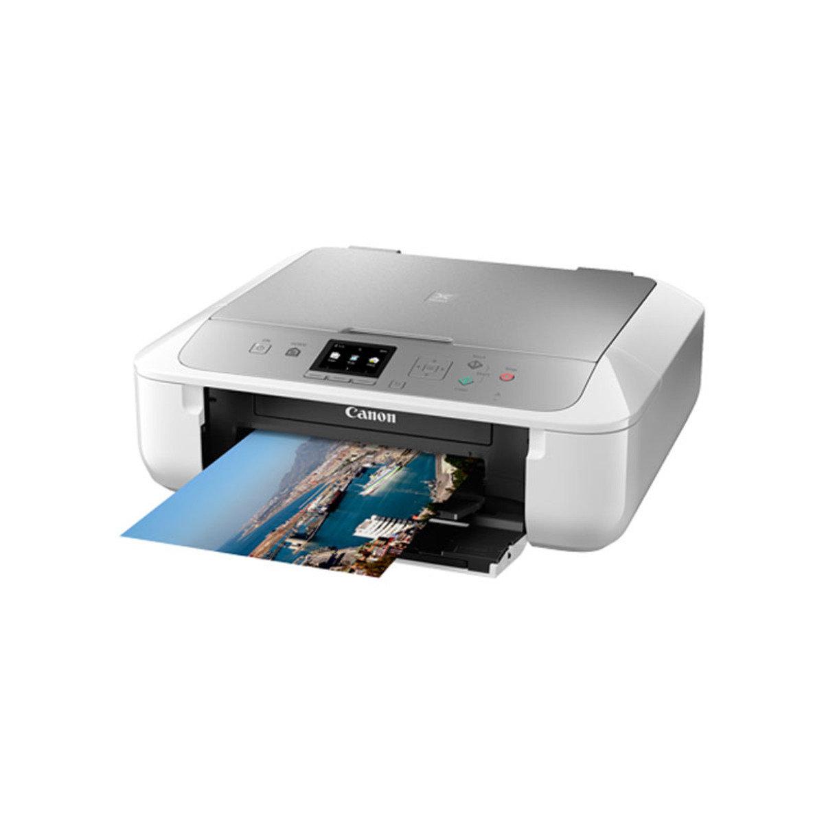 彩色打印 掃瞄 影印 多合一噴墨相片打印機 MG5770 銀色