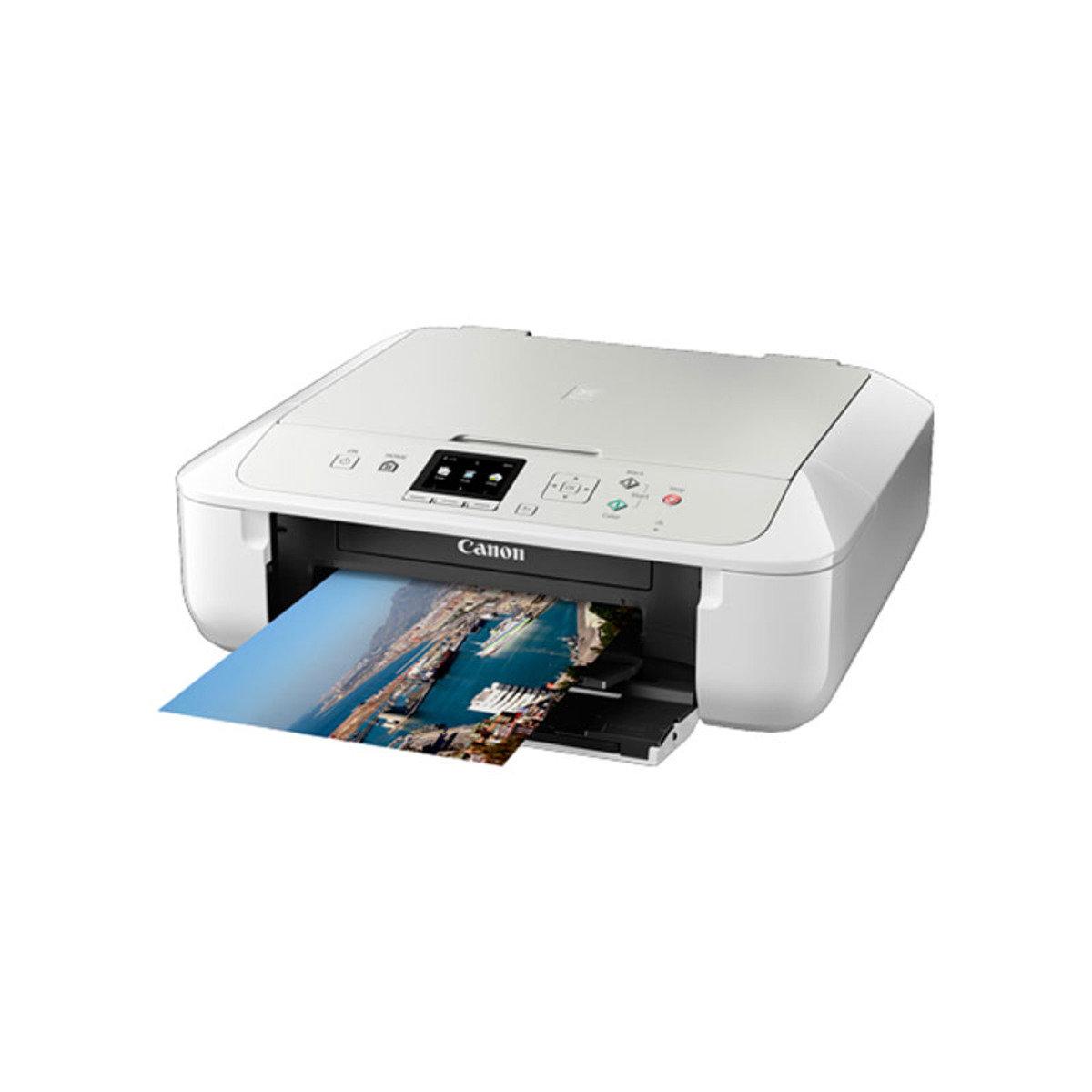 彩色打印 掃瞄 影印 多合一噴墨相片打印機 MG5770 白色