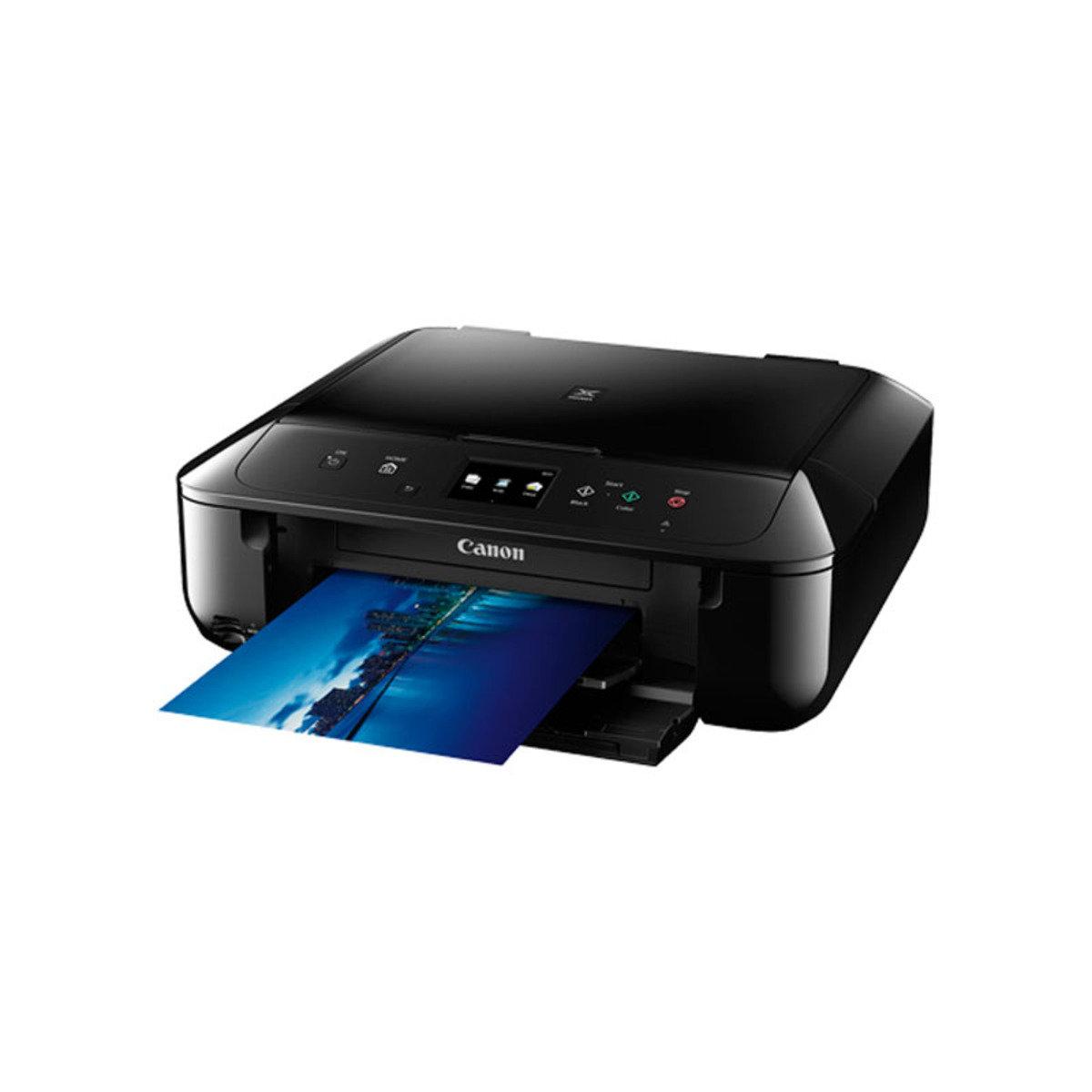 彩色打印 掃瞄 影印 多合一噴墨相片打印機 MG6870 黑色