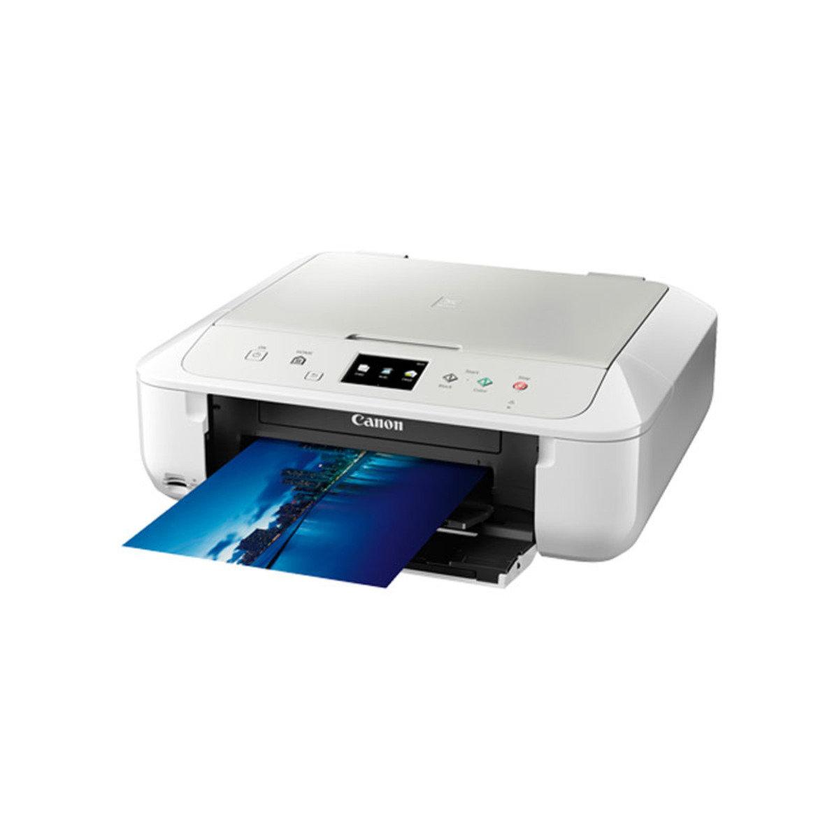 彩色打印 掃瞄 影印 多合一噴墨相片打印機 MG6870 白色