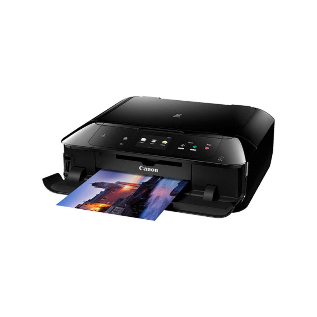 彩色打印 掃瞄 影印 多合一噴墨相片打印機 MG7770 黑色