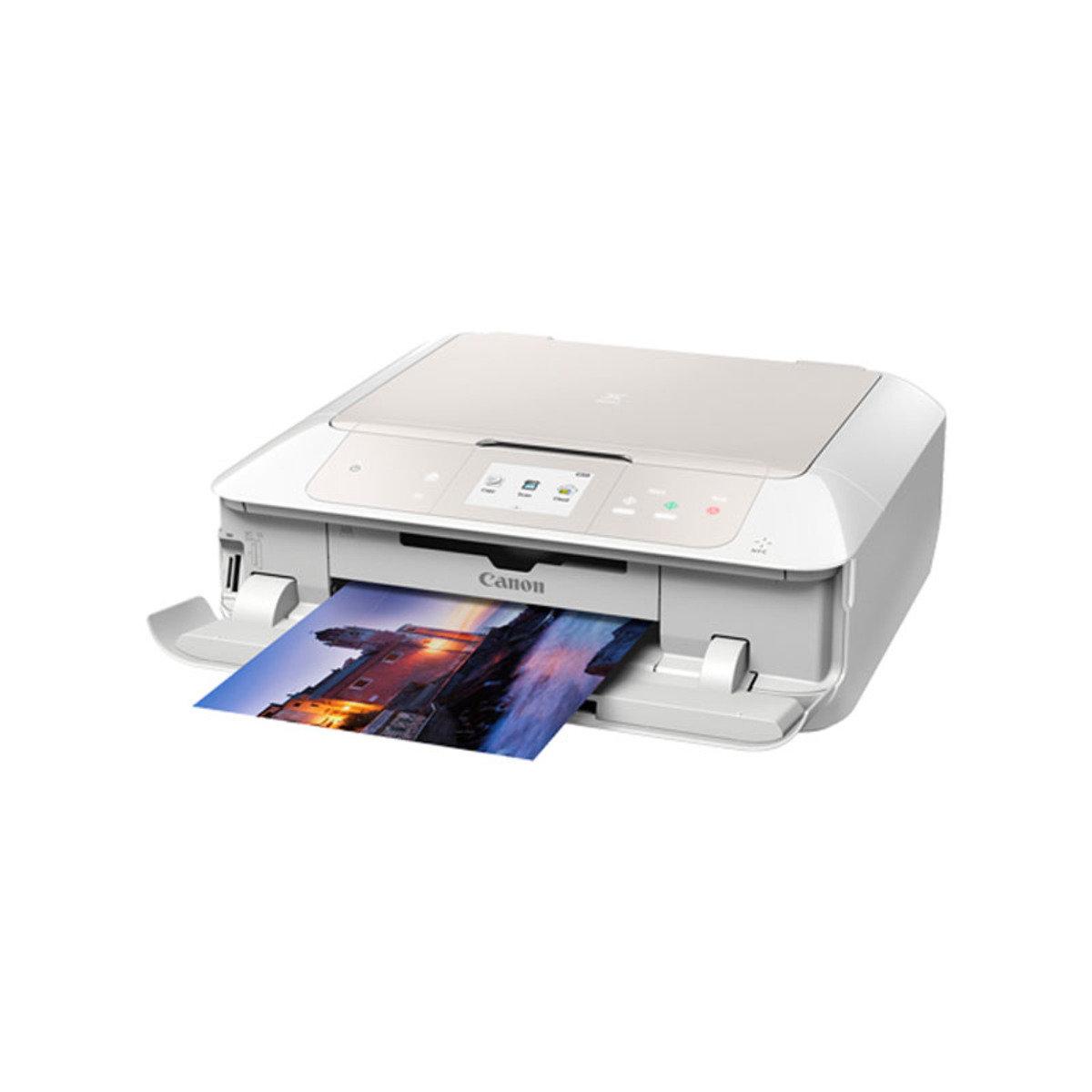 彩色打印 掃瞄 影印 多合一噴墨相片打印機 MG7770 白色