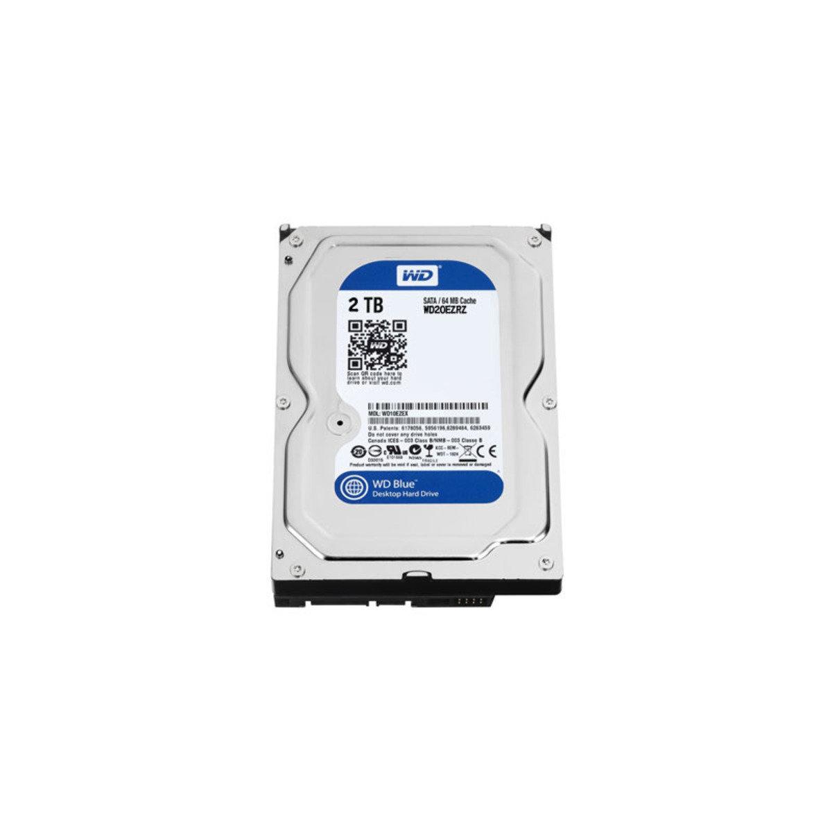 3.5吋 2TB SATA 6Gb/s 桌上型電腦 內置硬碟 20EZRZ