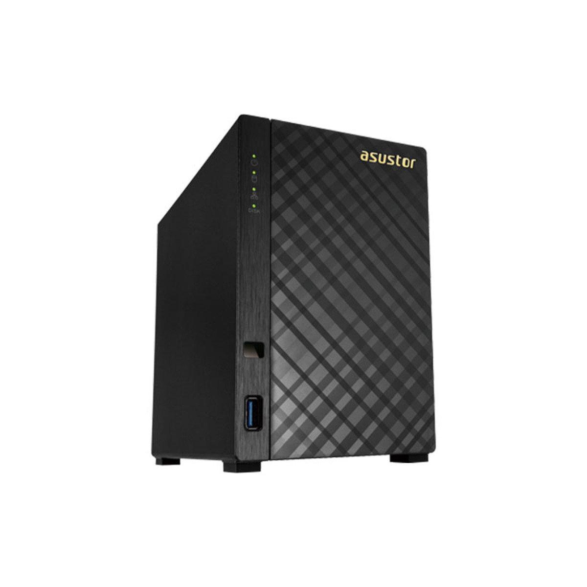 2-Bay 4K播放雲端網絡儲存分享系統 AS3102T