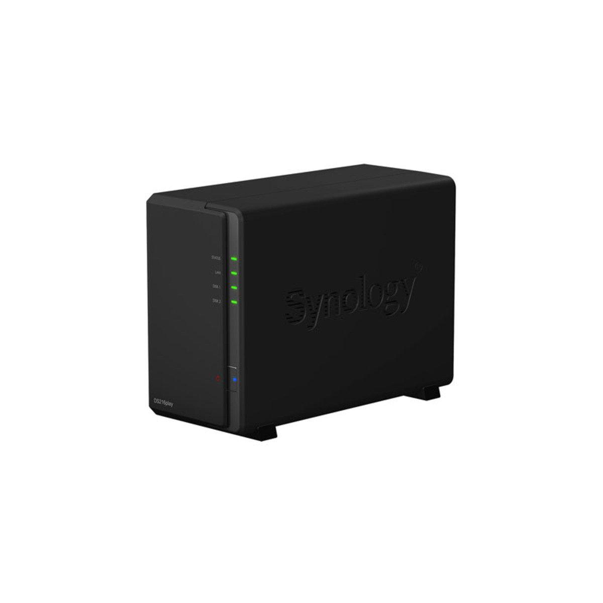 2-Bay 雲端網絡儲存分享系統 DS-216Play