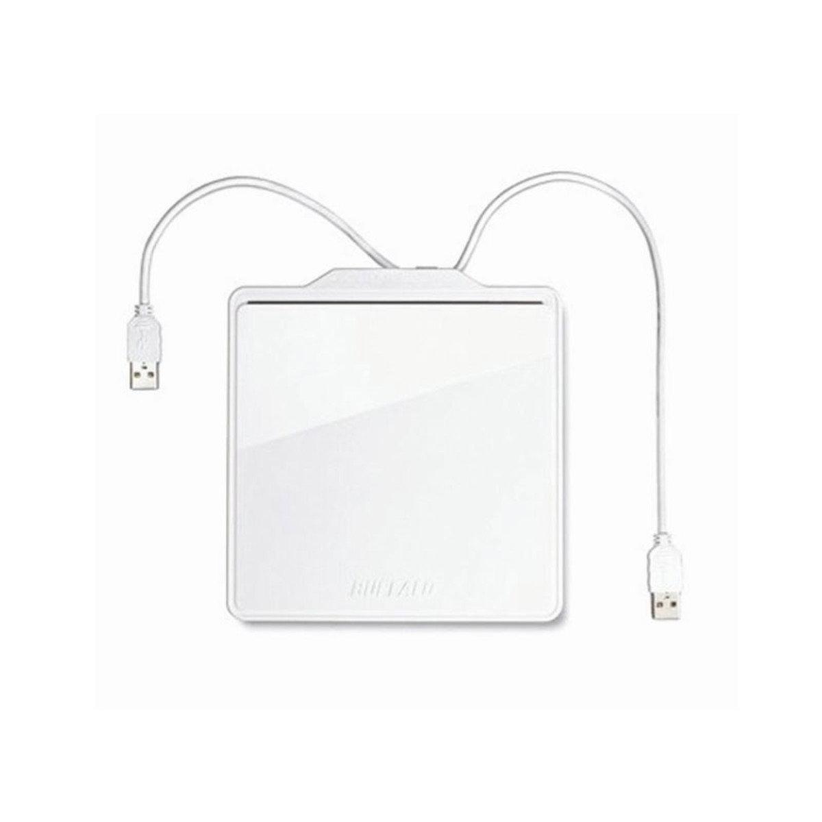 便攜式外置USB2.0 光碟燒錄機 PC58U2VW 白色