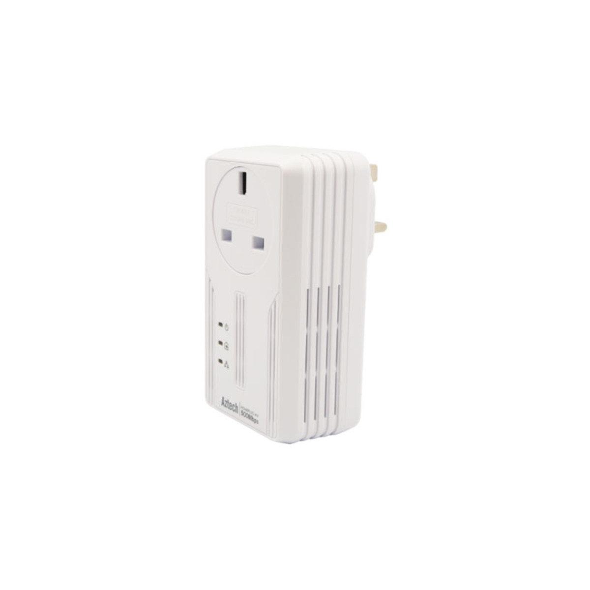 AV 500Mbps HomePlug 電力網絡 HL-117EP