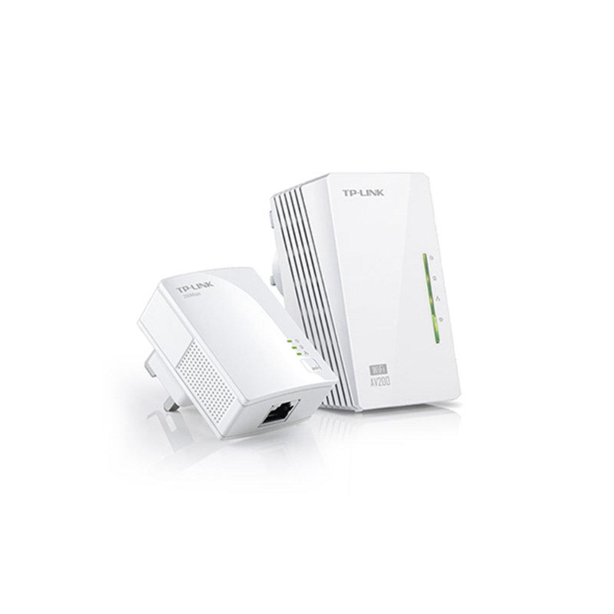 AV 200Mbps 無線WiFi HomePlug 電力網絡 WPA281KIT-V3