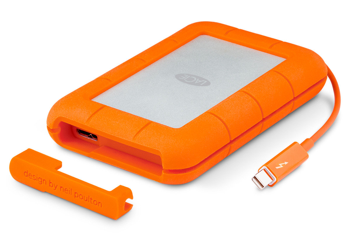 Rugged Thunderbolt 250GB SSD IP54防水防麈抗震外置硬碟 9000490