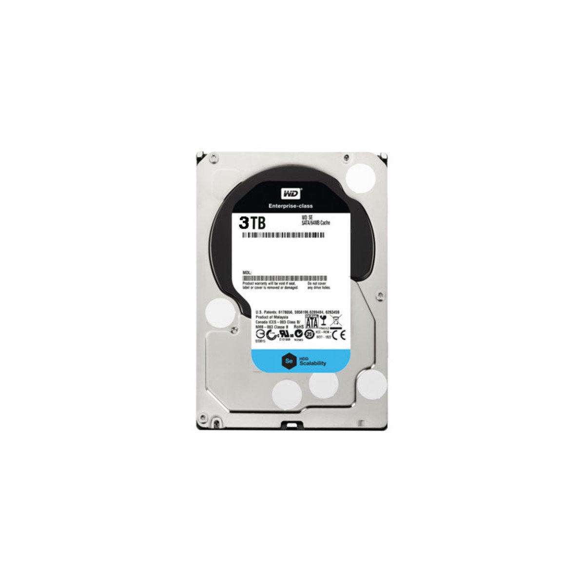 3.5 吋 DataCenter 3TB SATA 內置硬碟 SE WD3000F9YZ