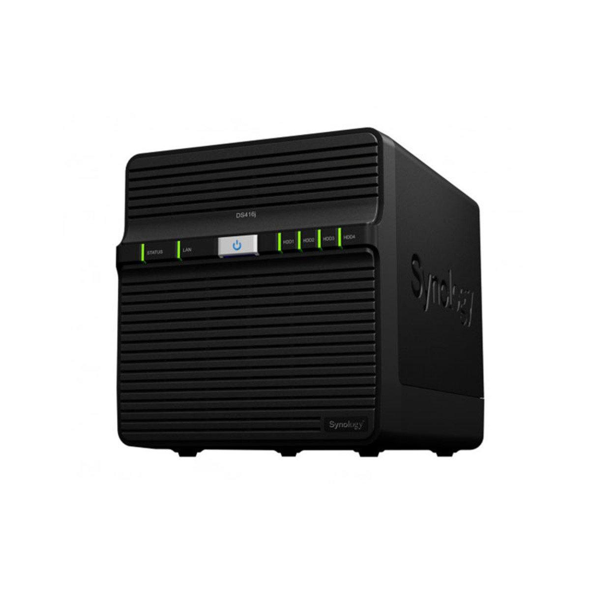4-Bay 入門級雲端網絡儲存分享系統 DS416J