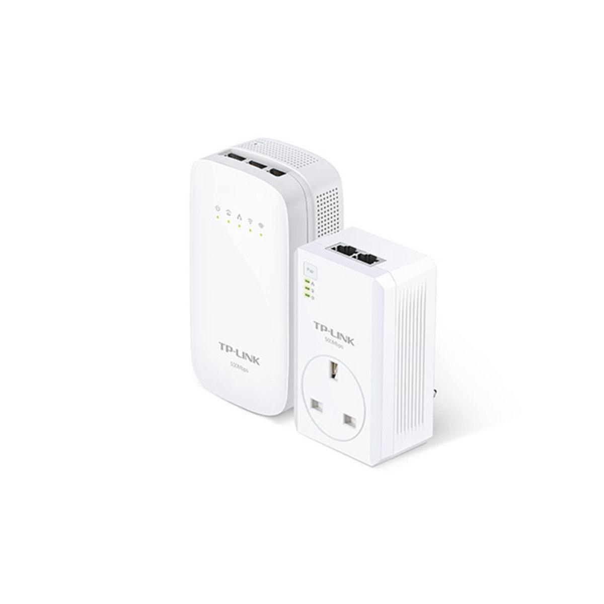 AV 500Mbps 無線AC-WiFi HomePlug 電力網絡 WPA-4530-KIT