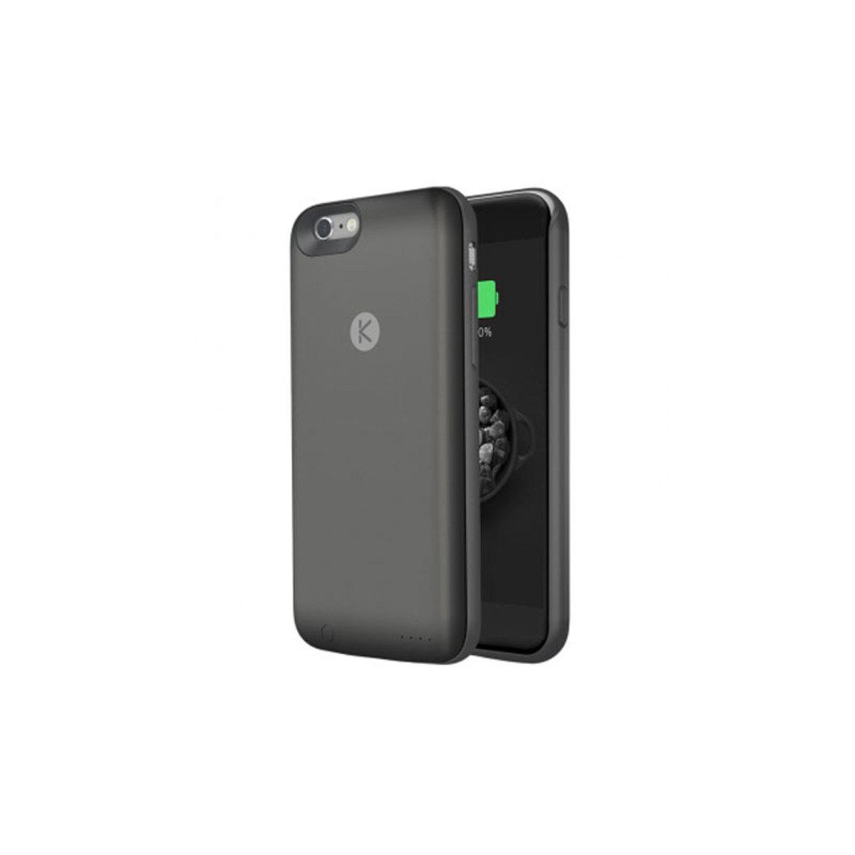 iPhone 6 / 6S 專用機殼內置64GB連2400mAh充電池 黑色+黑色
