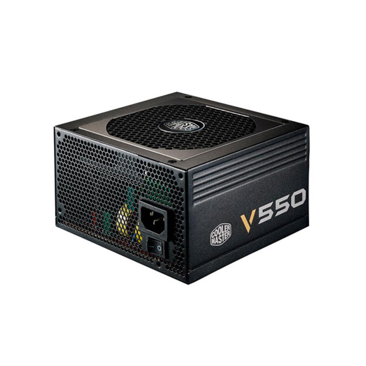 80Plus金認證 極致專家系列 V550 550w 電腦變壓器