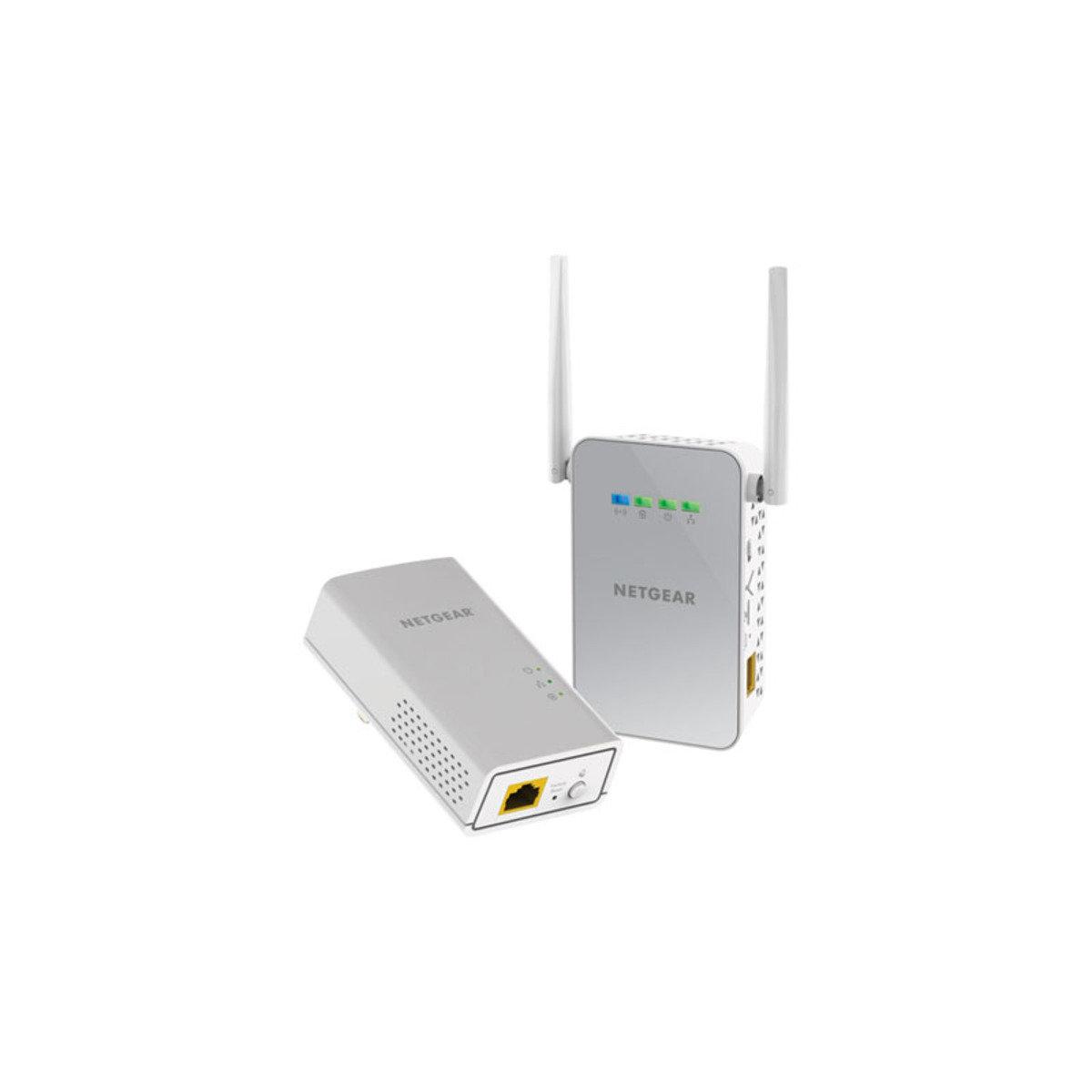 AV2 1000Mbps 連雙頻無線WiFi HomePlug 電力網絡 PLW1000 Kit