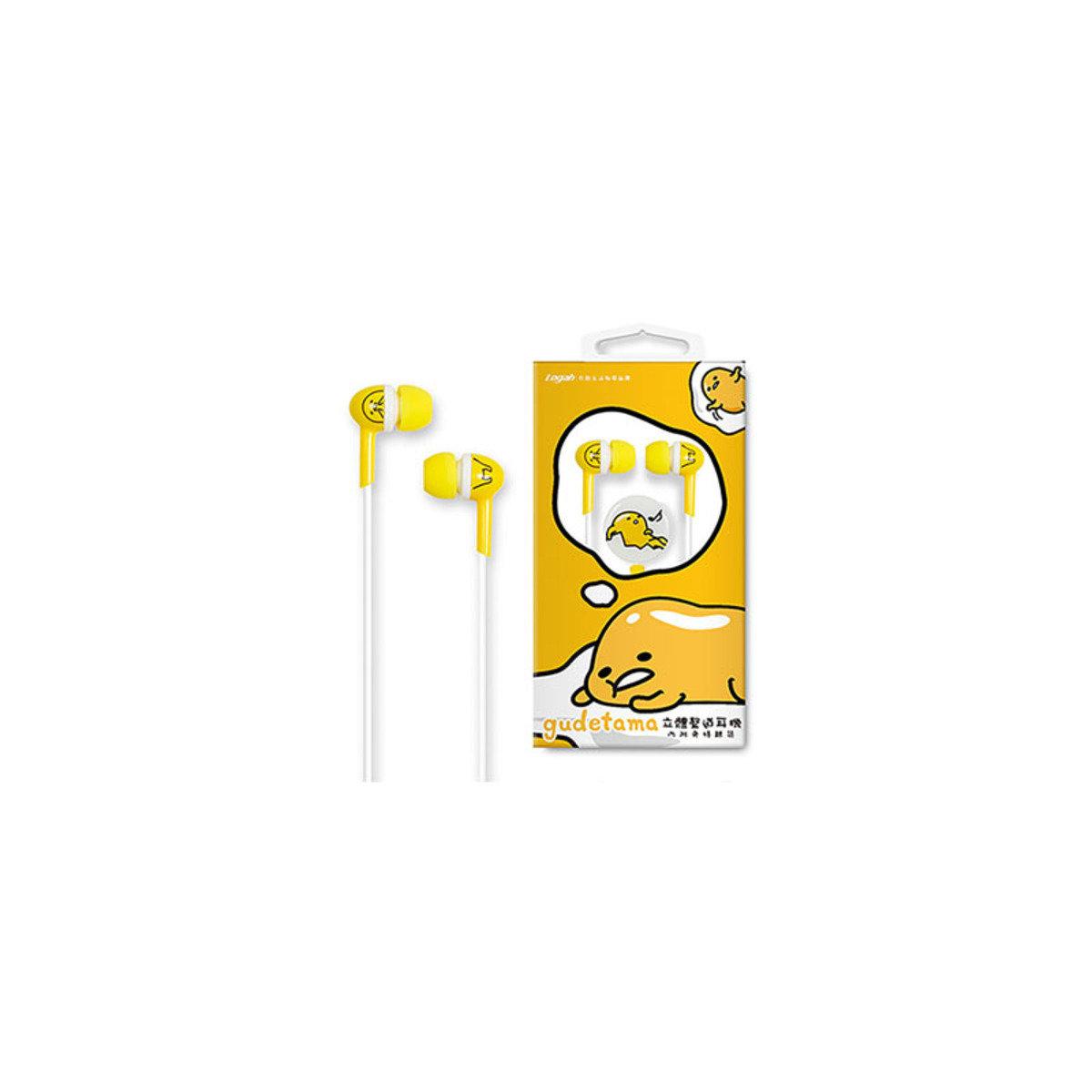 蛋黃哥Sanrio正版授權 入耳式耳機連Mic