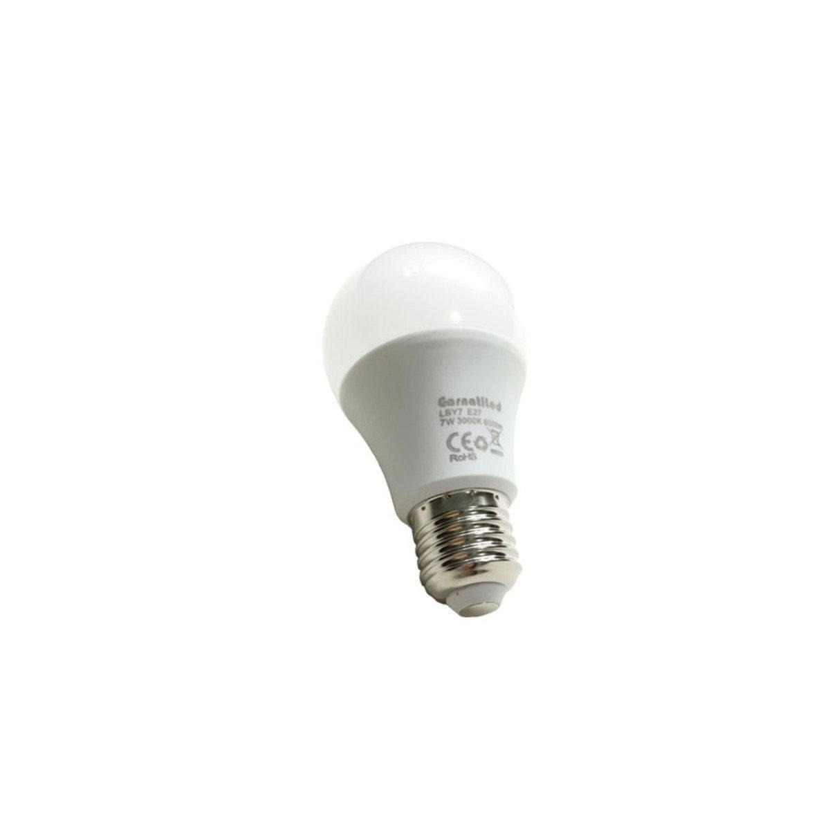 7w 660流明 5000K色溫 白光 LED燈泡 LBW7
