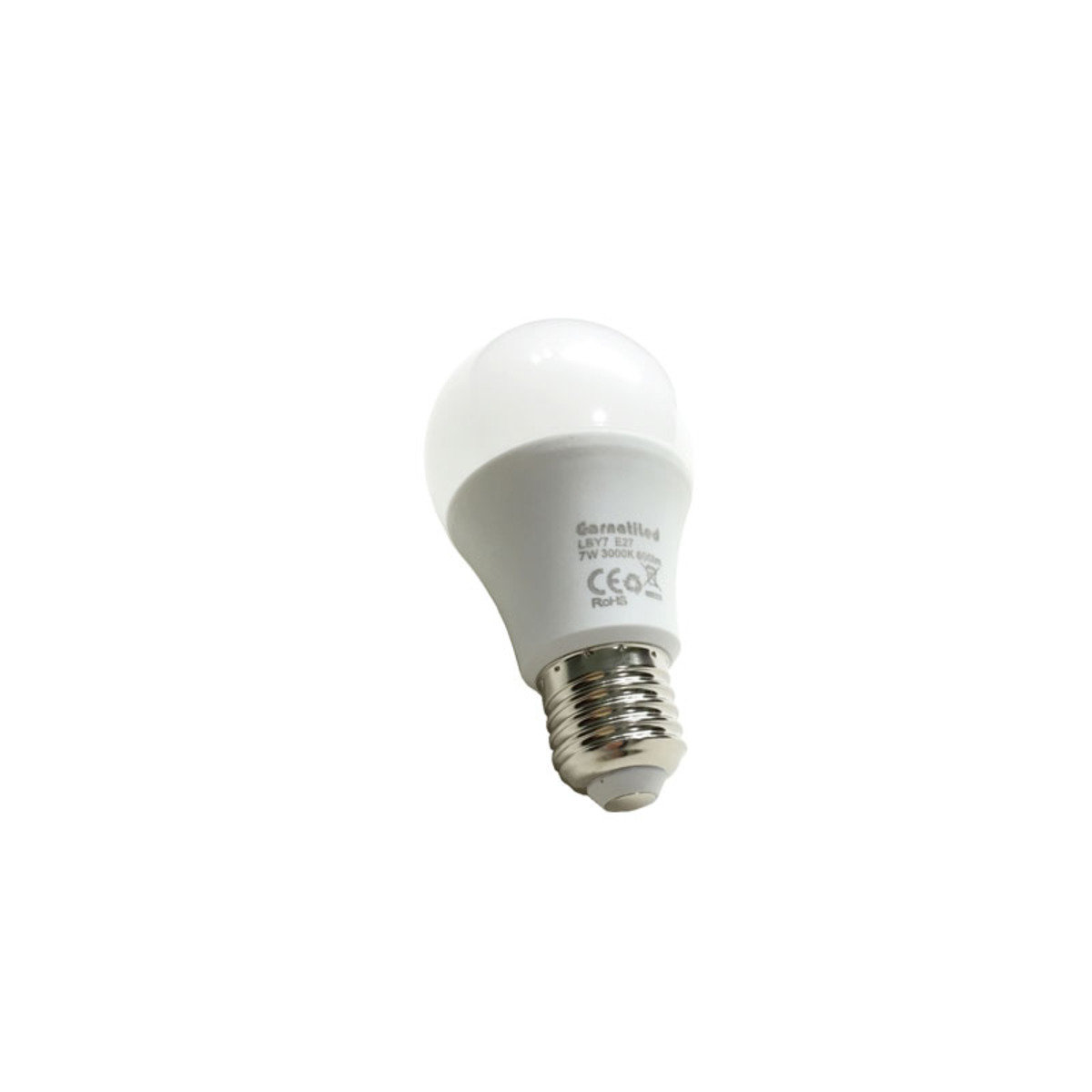 7w 600流明 3000K色溫 黃光 LED燈泡 LBY7
