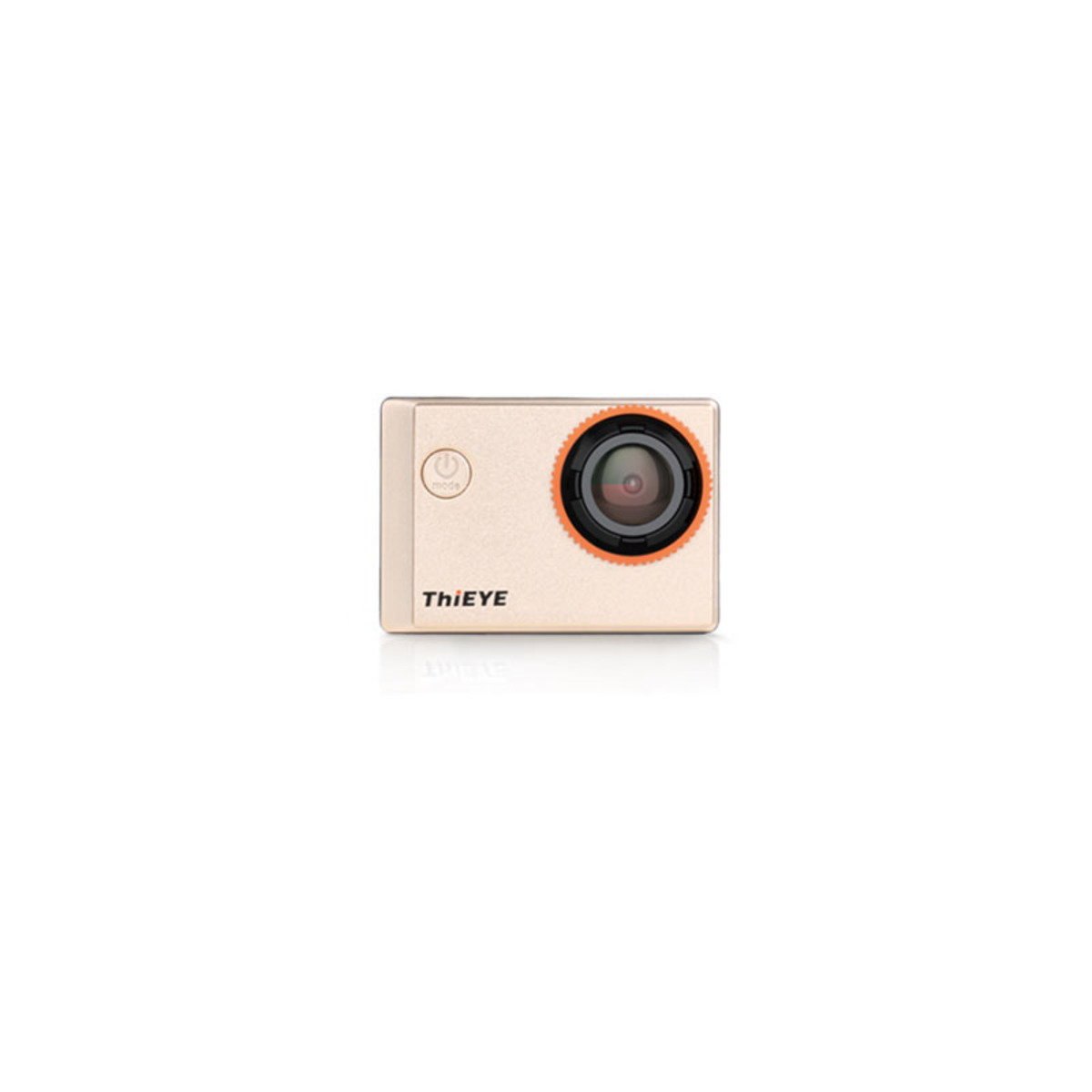 全高清1200萬像1440p WiFi 極限運動攝影機 i60 金色