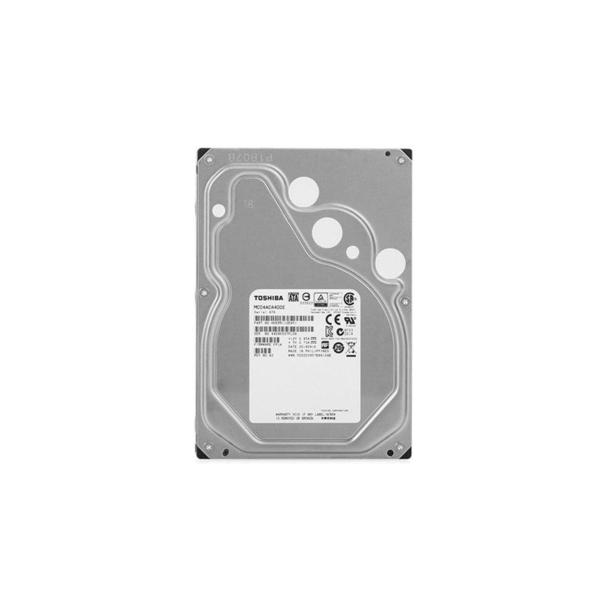 3.5吋 4TB SATA 6Gb/s 企業級雲端內置硬碟 MC04ACA400E
