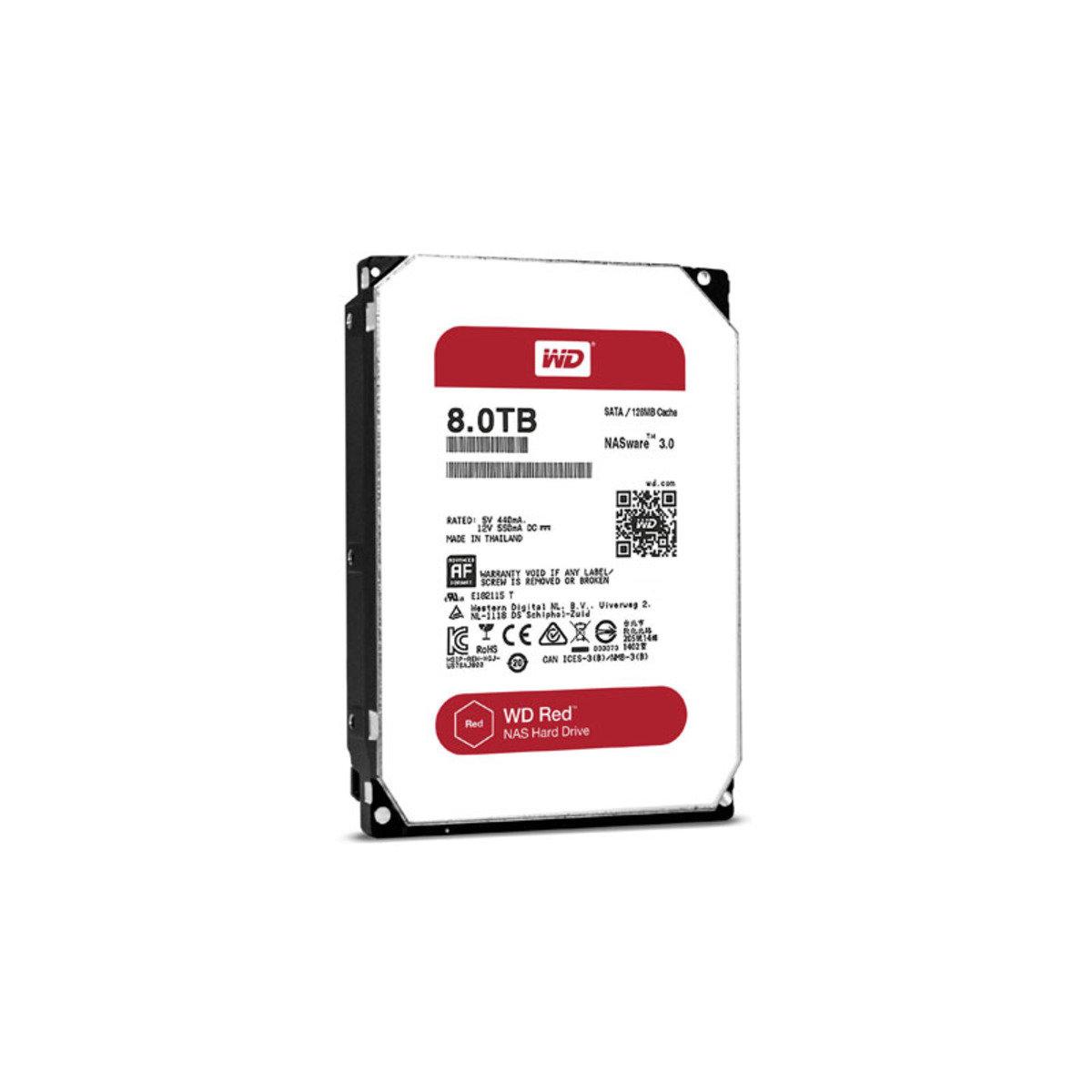 3.5 吋 NAS 專用 8TB SATA 內置硬碟 80EFZX
