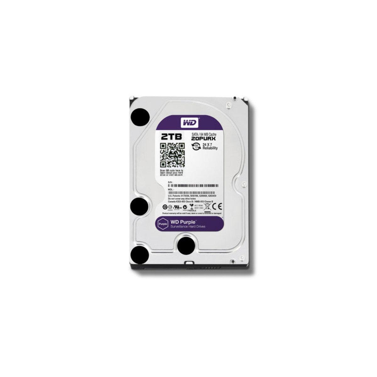 3.5 吋 錄影專用 2TB SATA 內置硬碟 20PURX